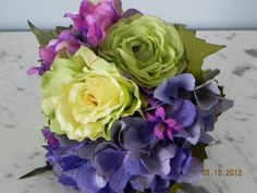 Affordable silk wedding  bridal bouquet and by BountifulBouquets, $39.95