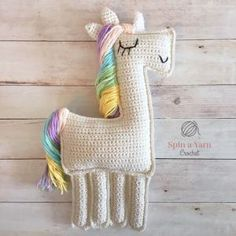 Download Ragdoll Unicorn Amigurumi Pattern (FREE)