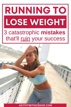 Using running to lose weight can be incredibly successful, but only if you do it right. This post on achieving healthy weight loss with running covers 3 mistakes you MUST avoid to hit your goals. If you've been wondering how to lose weight with running - this is it. #runningforbeginners #runningtips #newrunner Running For Beginners, Running Tips, Become A Runner, Healthy Weight Loss, Mistakes, Helpful Hints, How To Become, Lose Weight, Success