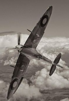 World War II in Pictures: Supermarine Spitfire - Classic RAF Fighter Ww2 Aircraft, Fighter Aircraft, Military Aircraft, Fighter Jets, Image Avion, Spitfire Supermarine, Photo Avion, The Spitfires, Hells Angels