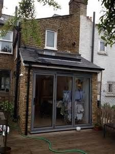 Small Terraced House Front Garden Ideas: Lean To Victorian Terrace Extension House Extension Design, Glass Extension, Roof Extension, Extension Google, Extension Ideas, Lean To Conservatory, Conservatory Extension, Small Kitchen Orangery Extension, Conservatory Ideas