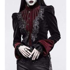 Victorian Velvet Jacket – Ghoulish Girls Source by fashion dress Fashion Week, Fashion Outfits, Womens Fashion, Fashion Trends, Estilo Punk Rock, Gothic Mode, Gothic Lolita, Gothic Chic, Mode Sombre