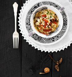 Suppilovahverorisotto   Kasvis, Pastat ja risotot   Soppa365