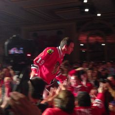 The Captain makes his entrance! #BHC2013