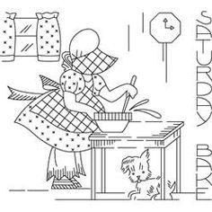 Pattern Detail | Sunbonnet Sue Saturday - Bake | Needlecrafter
