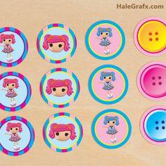 FREE Printable Lalaloopsy Cupcake Toppers