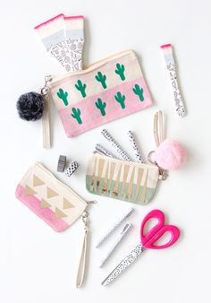 » MY DIY | Back-to-School Cotton Canvas Cactus Bag