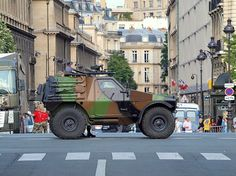 Panhard VBL at Bastille Day