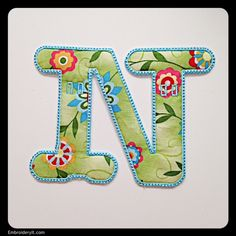 N - Embroidery It | Creative Embroidery Designs