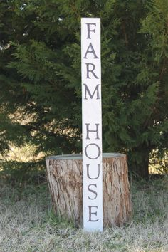 Farm House sign reclaimed wood by southernbellesign on Etsy