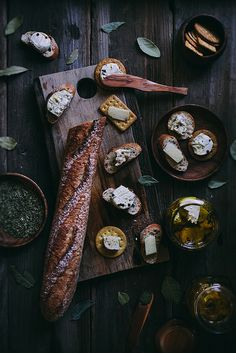 Herb Marinated Cheeses | Adventures in Cooking by Eva Kosmas Flores | Adventures in Cooking, via Flickr