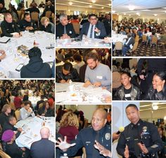 """Thank you to everyone who participated in """"Days of Dialogue"""" regarding the Future of Policing. The event was presented by the Institute for Non Violence in Los Angeles, & it was an honor to serve as a host site for open conversations w/the community, LAPD & trained mediators toward bridging the gap of understanding & shaping real change. """"Two are better than one, because they have a good reward for their labor."""" Proverbs 4:9 #daysofdialogue #crenshawchristiancenter  #futureofpolicing"""