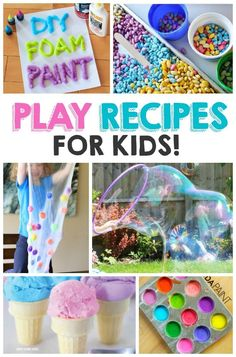 18 play recipes to make for kids - hours of entertainment!