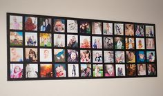DIY Wall Art: What better way to celebrate the ones you love than by creating a fun photo collage to hang on your wall. You know you've got tons of photos to display. Now you have a cool way to show them off! Picture Collage Art Tutorial