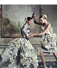 Dolce & Gabanna have a rococo fight.