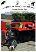 On Saturday October 26th, the 6th Annual Halloween Classic Car Show  will be held at The National Museum of Funeral History.This is an open car show with guest judges from The Blast From the Past Car Club coming in to judge all of the cars. All types of vehicles are welcomed from 1900 to 2014. There are over 30 classes available including Classic Car and Truck, Convertible, Corvette, Camaro, Mustang, Custom, Import, Motorcycle, Muscle, Open Class, Original, Race Car, Street rods, and New…