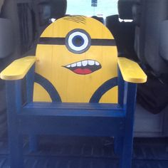 Minion chair                                                                                                                                                                                 More