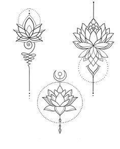 Simple Mandala Tattoo, Lotus Mandala Tattoo, Lotus Flower Tattoo Design, Mandala Tattoo Design, Lotus Design Tattoos, Lotus Mandala Design, Simple Lotus Flower Tattoo, Lotus Flower Mandala, Tattoo Simple