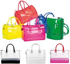 GLAMOUR & PEARLS: Furla Candy Bag