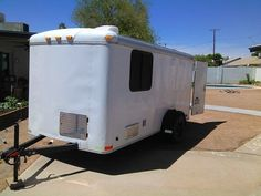 Guest Post 2013 6 x 12 Cargo Trailer Camper/bug out/suite build - By B. Winger At first we wanted a vintage canned ham trailer, but most needed too much rebuilding, then we thought about building a...