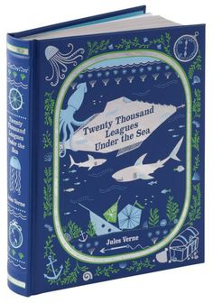 A gorgeous edition of Jules Verne's landmarkof science fiction and wonder, featuring full-color art by Milo Winter. When Professor Pierre Aronnax and...