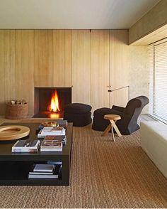 Love. @vincentvanduysen via @ivy.concept #design #belgium #architecture #linen #interiordesign #architect #designer #interiordesigner… Pierre Chapo, Interior Decorating, Interior Design, Architectural Digest, Living Spaces, Living Rooms, House, Chair, Wood