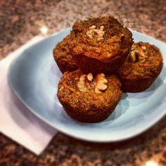 Sooo Paleo: Paleo Pumpkin Carrot Walnut Muffins #GERD-friendly