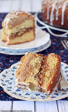Double Crumb Cinnamon Coffee Cake