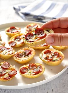 Mini Pizza Potato Skins   Community Post: 21 Insanely Easy Appetizers Guaranteed To Please Your Party Guests