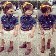 fashion girl! I want a little baby girl now!