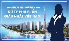 Chân dung bí ẩn của người phụ nữ giàu nhất Việt Nam   Bà Phạm Thu Hương được biết đến là một trong những người sáng lập Vingroup - tập đoàn kinh tế tư nhân hàng đầu Việt Nam - và giữ vai trò là Phó chủ tịch thường trực thứ hai.  Bà Hương sinh ngày 14/6/1969 tại Hà Nội. Bà có bằng Cử nhân luật quốc tế tại Ukraina. Nữ doanh nhân này cũng là vợ của ông Phạm Nhật Vượng - tỷ phú đôla đầu tiên và cũng là duy nhất Việt Nam được tạp chí uy tín Forbes công nhận thời điểm này.  Nữ tướng quyền lực của…