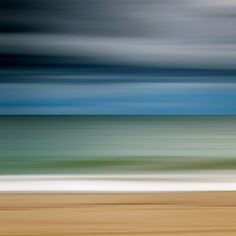 Ocean Storm Photo Print Large Abstract Beach by klgphoto on Etsy