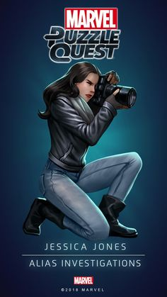 Jessica JONES (ALIAS Investigations) | 5 Stars | Marvel PUZZLE QUEST