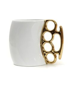New Creative Fist Cup 4 Colors Knuckles Mug Ceramic Coffee Mug Personality Porcelain Cup Novelty Gifts Brand Name: CPLIFE Drinkware Type: Mugs Style: Crea Porcelain Mugs, White Porcelain, Beer Mugs, Coffee Mugs, Brass Knuckles, Cool Mugs, Brass Handles, Novelty Gifts, Mug Cup