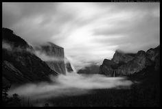 """Fade to Black"", Yosemite National Park, California."