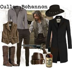 hell on wheels costume - Google Search