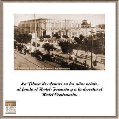 Plaza de Armas.- Archivo General Municipal de Aguascalientes.