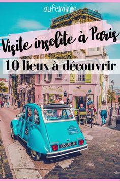 Un weekend à Paris prévu cet été ? Profitez-en pour découvrir les lieux les plus insolites de la Capitale ! /// #aufeminin #paris #lieuxinsolites #visiteinsoliteParis #parissecret #guideparis #vacancesparis #france #parisinsolite #lieuxsecrets