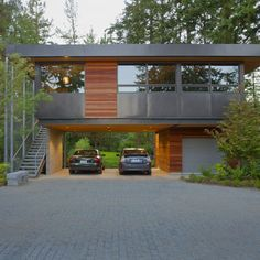 Damn right, that's a fucking carport! [Modern Home Exteriors Design, Pictures, Remodel, Decor and Ideas - page 17]