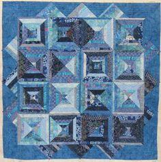 Blue Batik Quilts