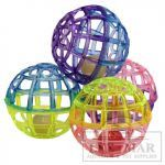 Ethical Products Spot Lattice Balls With Bell multi-colored plastic lattice balls with a jingle bell inside. Diy Cat Toys, Dog Toys, Dog Supplies Online, Pet Supplies, Plastic Lattice, Camping With Cats, Crate Bed, Interactive Cat Toys, Lattice Design