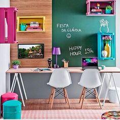 Conexão Décor  www.conexaodecor.com Inspirações de Home Office no blog da Conexão Décor