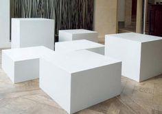table basse design pop DUCTAL® : MANHATTAN Lafarge concrete