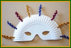 Mardi Gras Crafts for Kids - Create your own carnival masks!