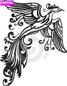 Rising phoenix tattoos from a flower - Recherche Google