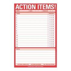 Knock Knock Action Items! Knock Knock Pad by Knock Knock https://www.amazon.com/dp/1601068786/ref=cm_sw_r_pi_dp_U_x_F0TEAbA14RBS2