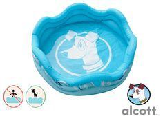 Mariner Inflatable Dog Pool by Alcott | Coupaw