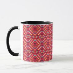Geometric 4c mug