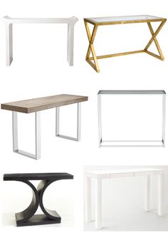 Best of ::: Console Tables