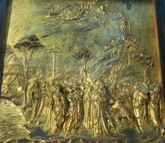 Lorenzo Ghiberti, Porta del Paradiso #portadelparadiso #Firenze